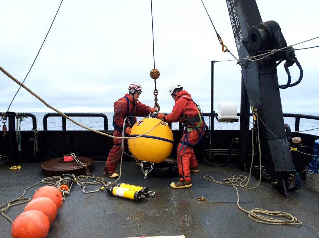 Chukchi Sea mooring